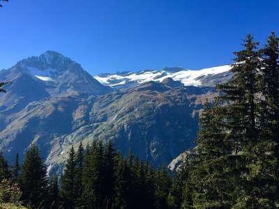 Parc national de la vanoise la dent parrachee et le dome de l arpont routes touristiques de savoie guide touristique de rhone alpes