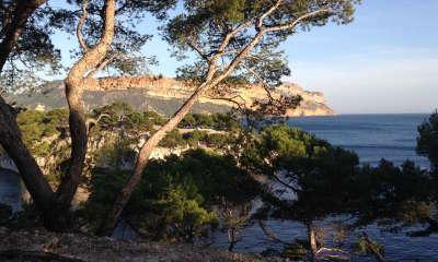 Parc national des calanques calanque de port miou routes touristiques des bouches du rhone guide du tourisme de paca