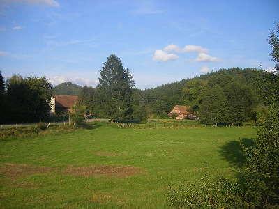 Parc naturel regional des vosges du nord paysage entre bannstein et philippsbourg routes touristiques guide du tourisme