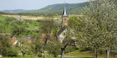 Parc naturel regional des vosges du nord village routes touristiques guide du tourisme
