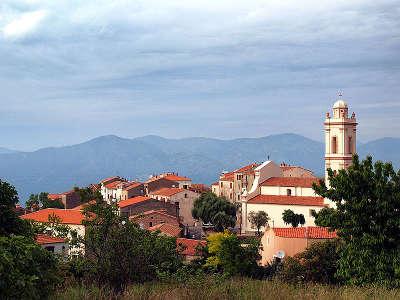 Piana plus beaux villages de france vue du village routes touristiques en corse du sud guide du tourisme de la corse
