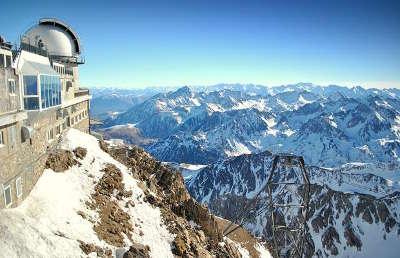 Pic du midi routes touristique des hautes pyrenees guide du tourisme midi pyreneess