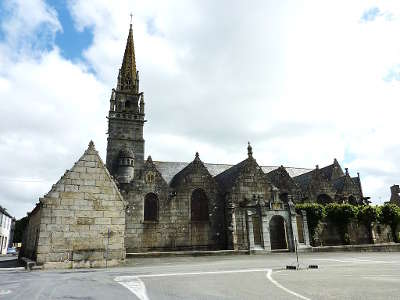 Pleyber christ circuit des enclos paroissiaux du pays de morlaix routes touristiques dans le finistere guide du tourisme e