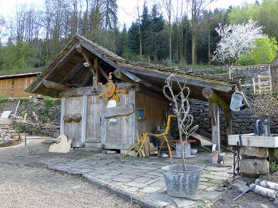 Plombieres les bains plus beau detours chalot des jardins en terrasse routes touristiques de haute saone guide touristique de franche comte