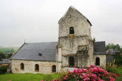Poix terron eglise saint martin routes touristiques dans les ardennes guide du tourisme grand est