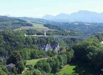 Pont de la caille routes touristiques de haute savoie guide du tourisme de rhone alpes