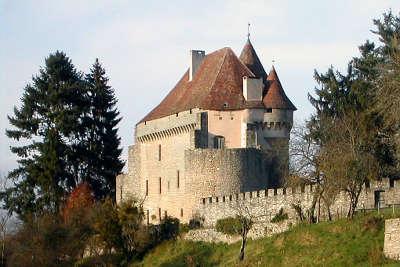 Pontarion le chateau routes touristiques de la creuse guide du tourisme du limousin