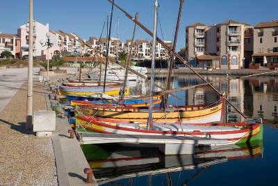 Port barcares le port routes touristiques des pyrenees orientale guide du tourisme occidanie