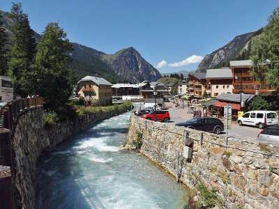 Pralognan la vanoise le doron routes touristiques de savoie guide touristique de rhone alpes