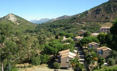 Residence le nebbio olmeta di tuda village de vacances routes touristiques de la corse du sud guide du tourisme de la corse