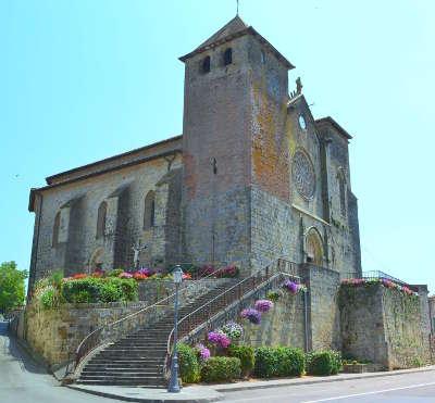 Riscle eglise saint pierre routes touristiques de gers guide du tourisme midi pyrenees
