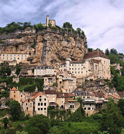 Rocamadour cite medievale grand site de france les sanctuaires routes touristiques du lot guide touristique midi pyrenees