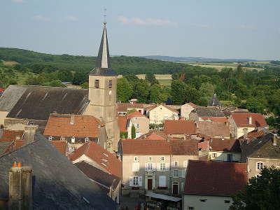 Rodemack plus beaux villages l eglise saint nicolas routes touristiques de la moselle guide du tourisme de lorraine
