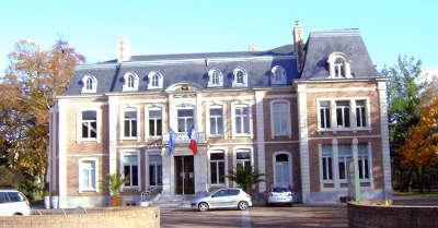 Roncq hotel de ville routes touristiques du nord guide touristique du nord pas de calais
