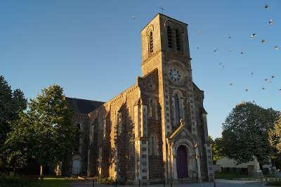 Rosnay l eglise saint medard routes touristiques de vendee du tourisme du pays de la loire