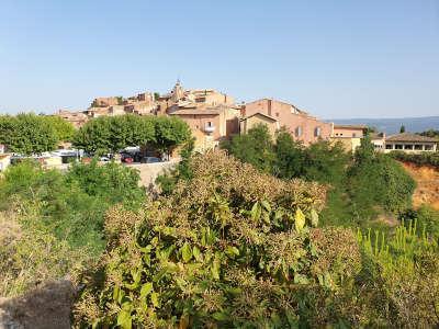 Roussillon routes touristiques du vaucluse guide touristique de la provence alpes cote d azur