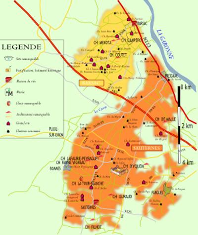 Carte Route Des Vins Bordeaux.La Route Des Graves