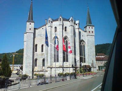 Saint claude cathedrale saint pierre saint paul et saint andre plus beaux detours routes touristiques du jura guide touristique de franche comte