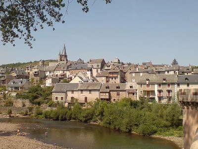 Saint come d olt plus beaux villages de france vue du village routes touristiques de aveyron guide du tourisme midi pyrenees