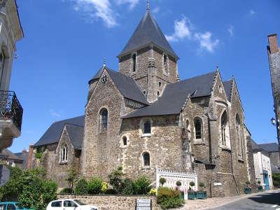 Saint denis d anjou petite cite de caractere eglise saint denis routes touristiques de mayenne guide du tourisme pays de la loire