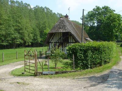 Saint germain village chaumiere routes touristiques de eure guide touristique de haute normandie