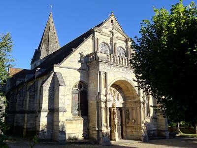 Saint gervais eglise saint gervais et saint protais routes touristiques du val d oise guide du tourisme d ile de france