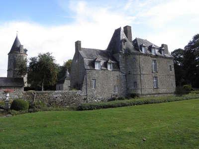 Saint hilaire des landes le chateau de la haye route touristique de l ille et vilaine guide du tourisme de bretagne 1