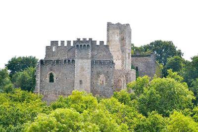 Saint jean ligoure le chateau routes touristiques de la haute vienne guide du tourisme du limousin