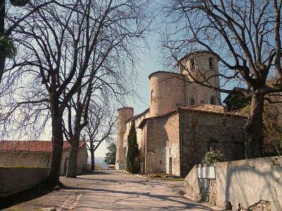 Saint lizier ville d art et d histoire le palais des eveques routes touristiques de ariege guide du tourisme midi pyrenees