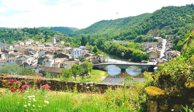 Saint martin laguepie vue de laguepie et de saint martin laguepie routes touristiques du tarn guide du tourisme de l occitanie