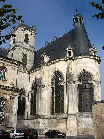 Saint mihiel abbaye saint michel cotes de meuse routes touristiques de la meuse guide du tourisme de la lorraine