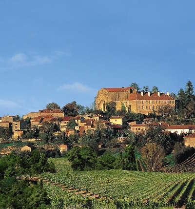 Saint mont vue sur les vignes routes touristiques de gers guide du tourisme midi pyrenees