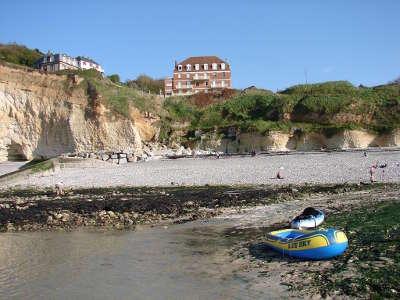 Saint pierre en port falaises et plage routes touristiques de seine maritime guide du tourisme de haute normandie