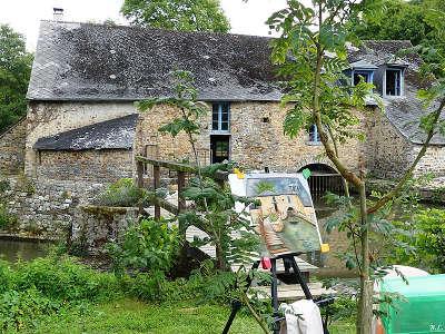 Saint pierre sur erve petite cite de caractere moulin de go routes touristiques de mayenne guide du tourisme pays de la loire