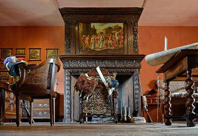 Saint sulpice le verdon logis de la chabotterie salle historique routes touristiques de vendee du tourisme du pays de la loire