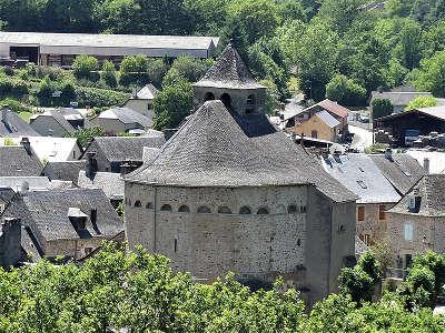 Sainte eulalie d olt plus beaux villages de france l eglise routes touristiques de aveyron guide du tourisme midi pyrenees