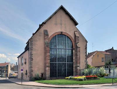 Sarrebourg la chapelle des cordeliers saint barthelemy routes touristiques du bas rhin guide touristique de l alsace