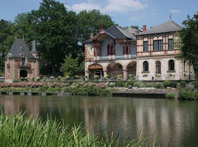 Sarreguemines pavillon de geiger et la casino routes touristiques de la moselle guide du tourisme de la lorraine