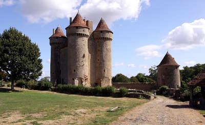 Sarzay le chateau routes touristiques dans l indre guide du tourisme centre val de loire