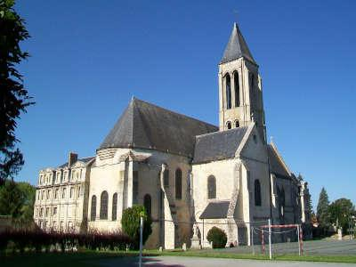Senlis ancienne abbaye saint vincent routes touristique de l oise guide du tourisme de picardie