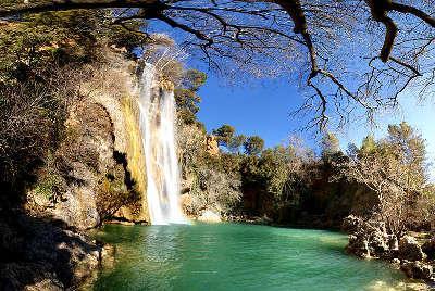 Sillans la cascade la cascade routes touristiques du var guide touristique de la provence alpes cote d azur