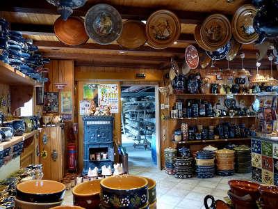 Soufflenheim atelier de poterie sur la route des potiers dans le bas rhin routes touristiques en alsace