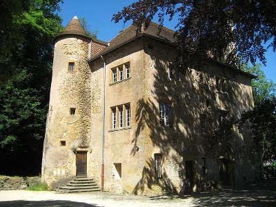 Thionville volkrange le chateau routes touristiques de la moselle guide du tourisme de lorraine