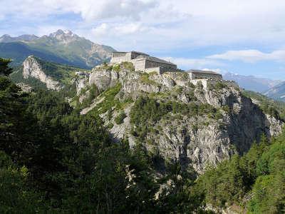 Vallee de la maurienne barriere de l esseillon les routes touristiques de savoie guide touristique de rhone alpes