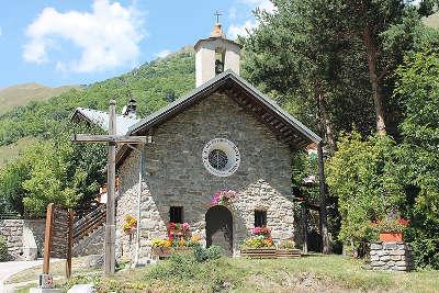 Valloire station de ski chapelle saint bernard de la borge routes touristiques de savoie guide touristique de rhone alpes
