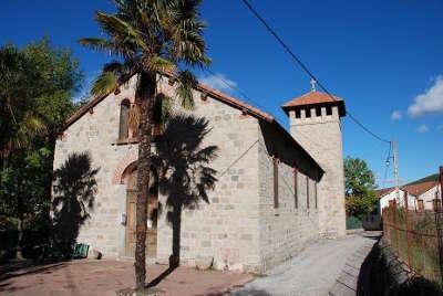 Vernet les bains eglise anglicane routes touristiques des pyrenees orientale guide du tourisme occidanie