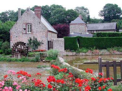 Veules les roses plus beau village la veules et les cressonnieres routes touristiques de seine maritime guide du tourisme de haute normandie