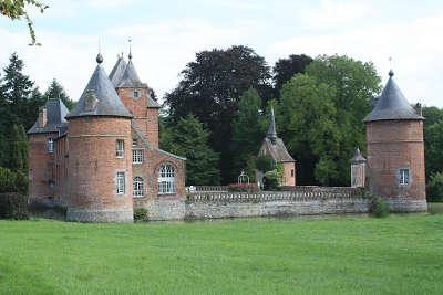 Vue du chateau de rametz guide touristique du nord nord pas de calais