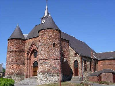 Wimy l eglise saint martin routes touristique de l aisne guide du tourisme de picardie