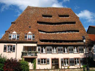 Wissembourg maison du sel tourisme bas rhin alsace